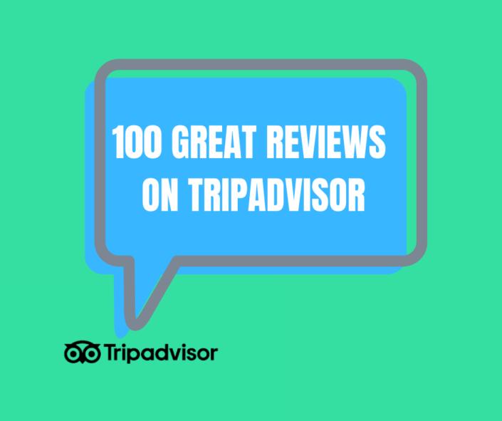 tripadvisor 100 reviews